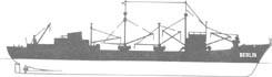 MS Berlin Typ IV, DSR