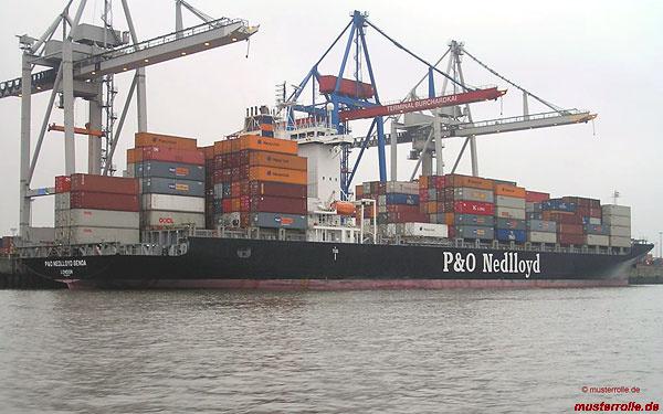 P&O-Nedlloyd-Genoa