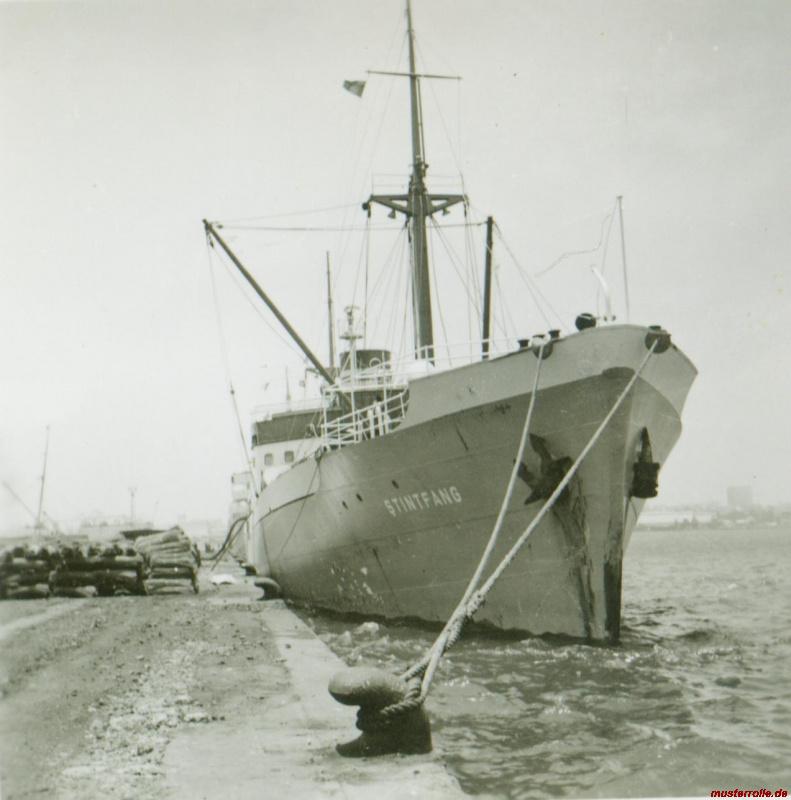 Stintfang  Reederei H. M. Gerckens