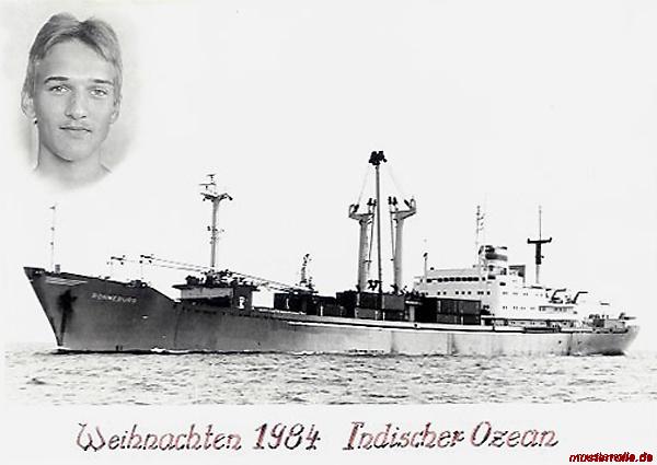 Ronneburg 1984  DSR Reederei