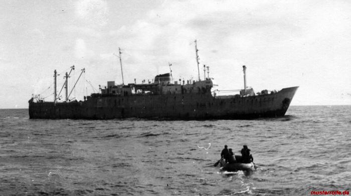 ROS 220 Verpflegungsübernahme vom Fang u Verarbeitungsschiff  FVS