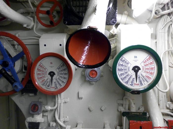 U Boot 995 Maschinentelegraph