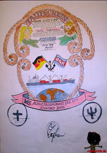 Fliegerkosmonaut der DDR Sigmund Jähn