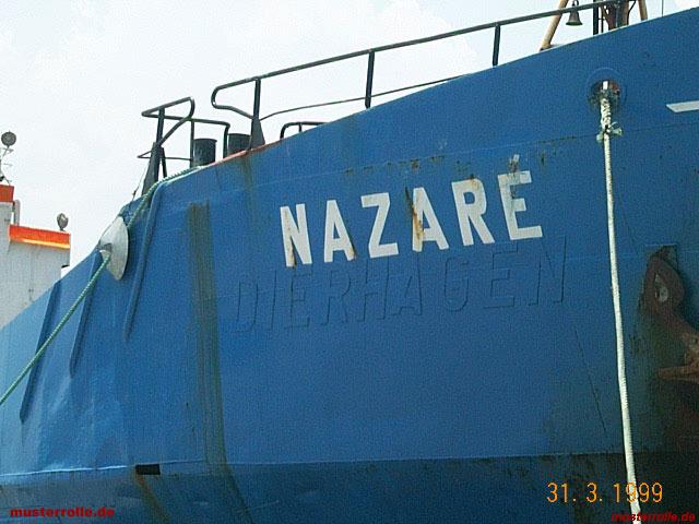 Dierhagen, M/V Nazaré
